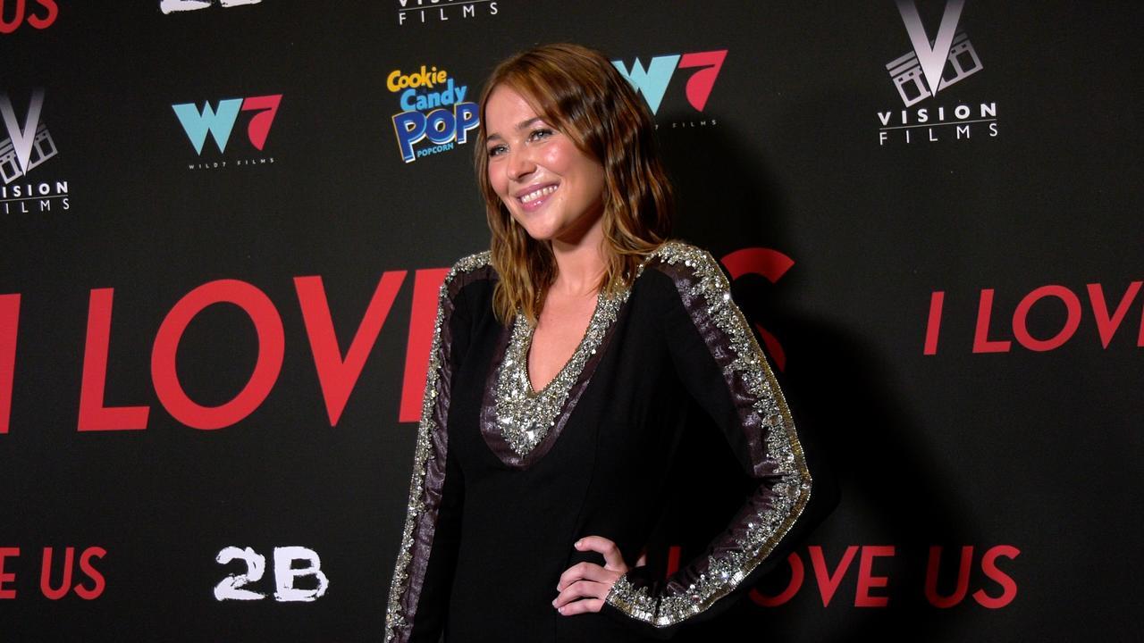 "Jasper Polish attends the ""I Love Us"" premiere red carpet in Los Angeles"