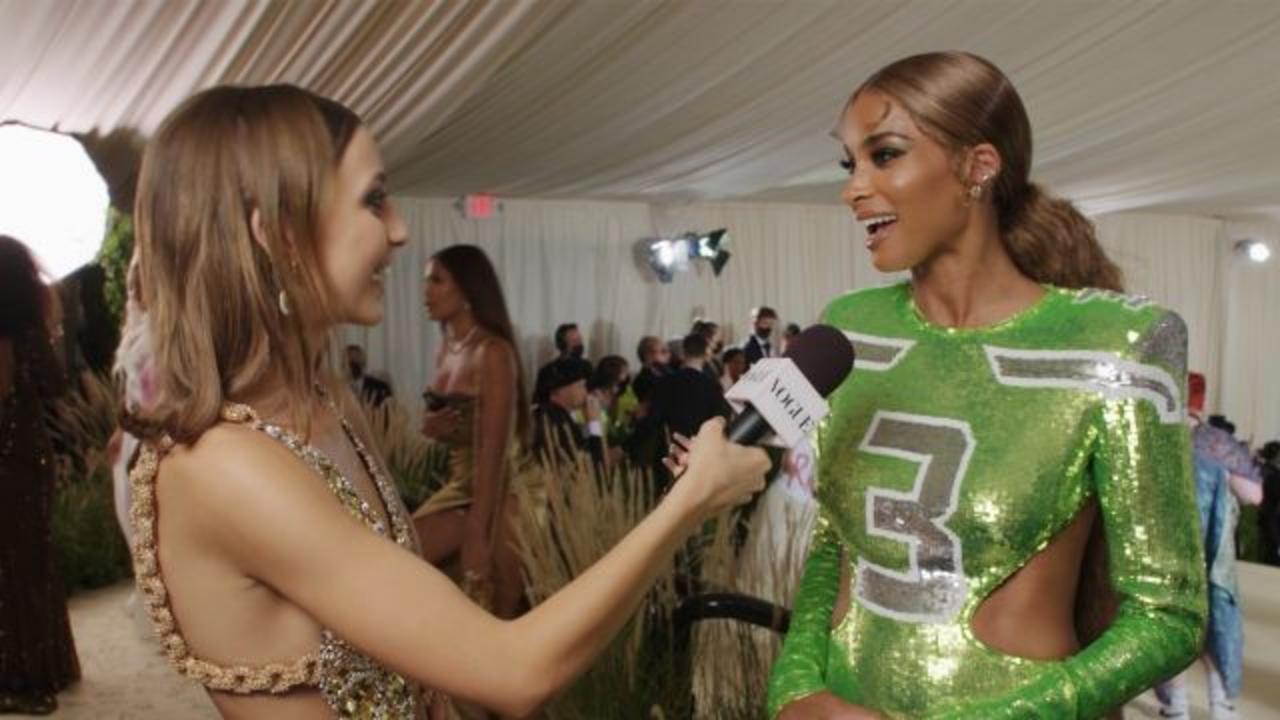 Ciara's Enchanting NFL Met Gala Homage