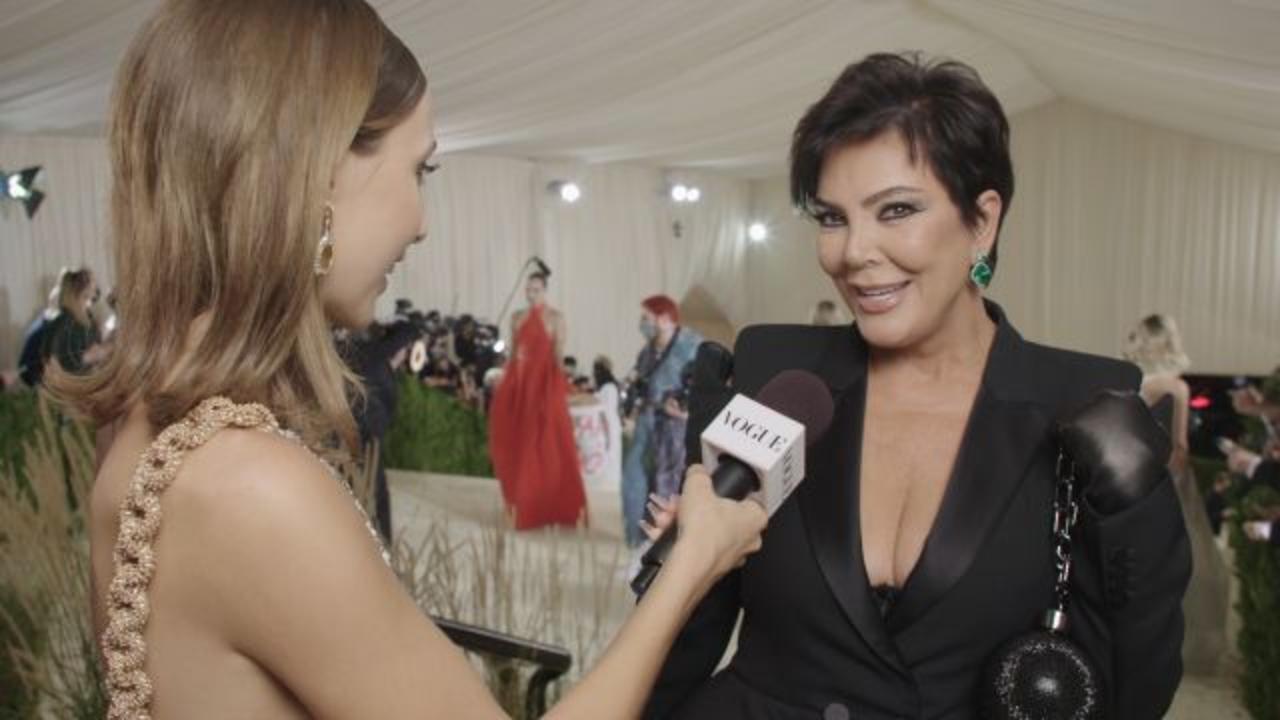 Kris Jenner Gives Emma 'Mom Energy' For Her First Met