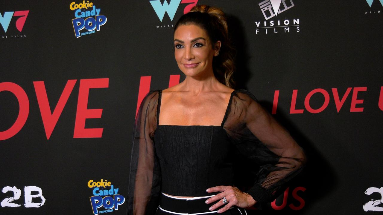 """Courtney Lopez attends the """"I Love Us"""" premiere red carpet in Los Angeles"""