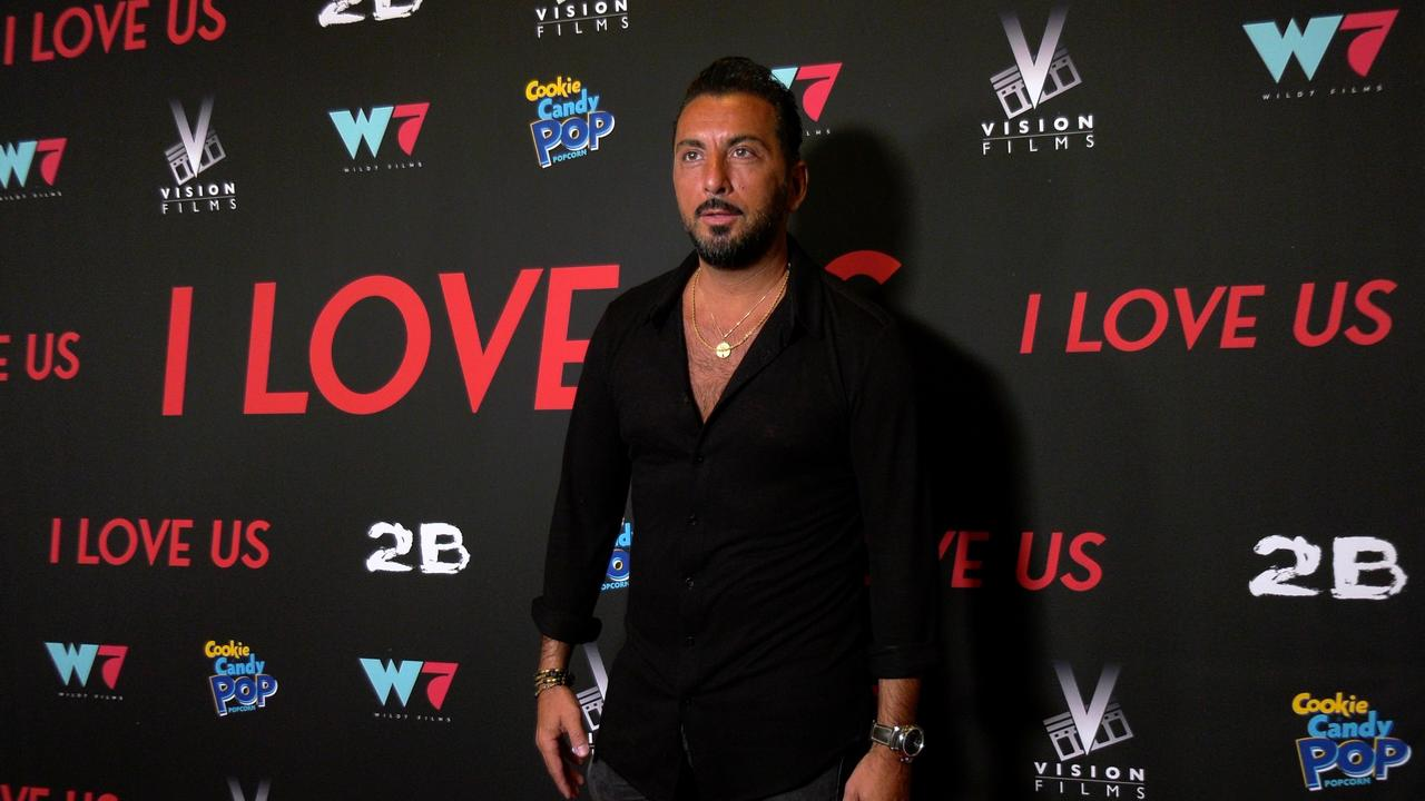 """Danny A. Abeckaser attends the """"I Love Us"""" premiere red carpet in Los Angeles"""