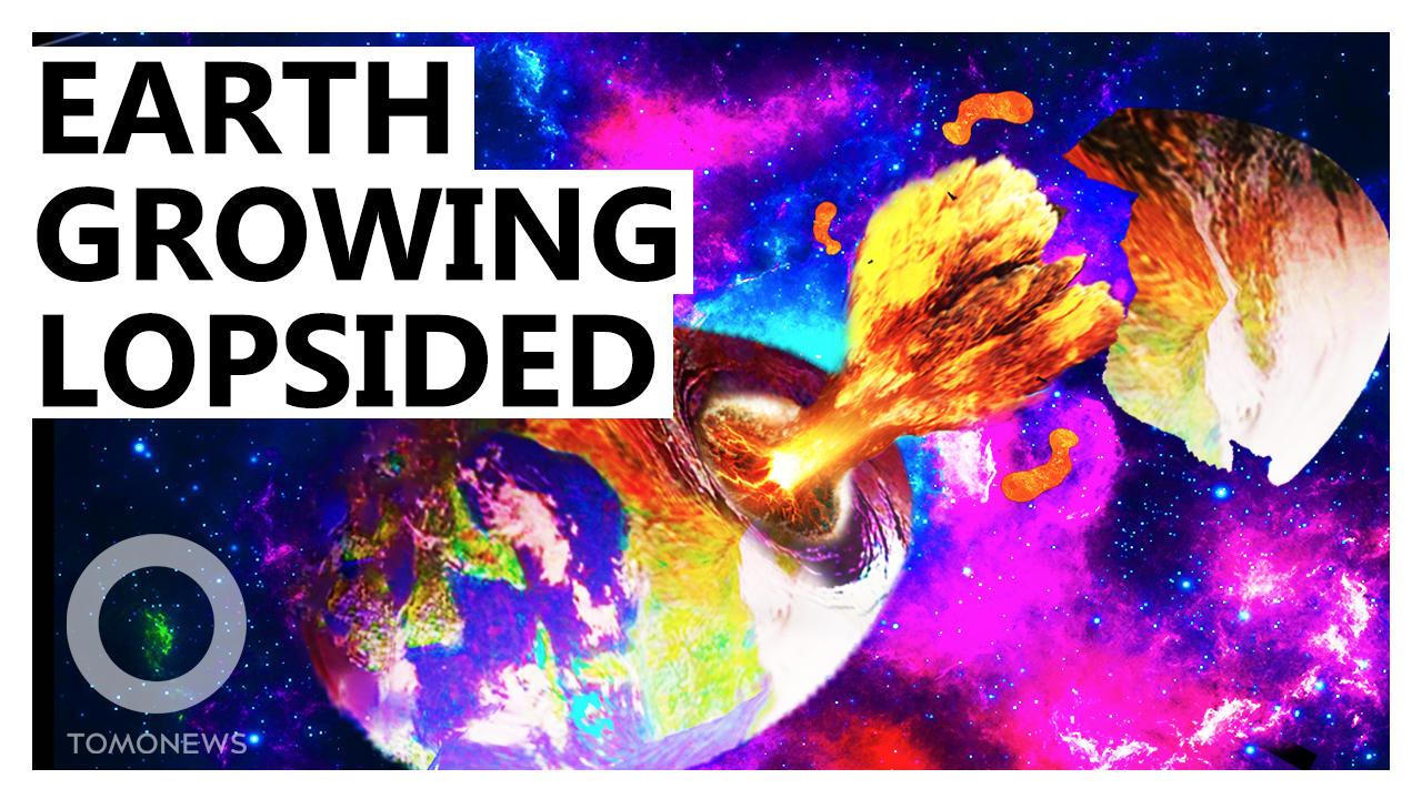 Earth's Core is Growing Lopsided