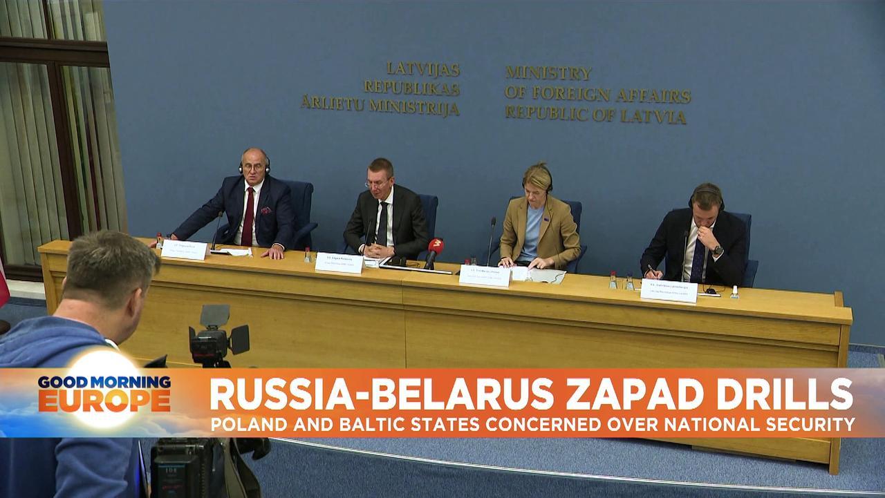 Putin observes war games with Belarus that worry EU neighbours