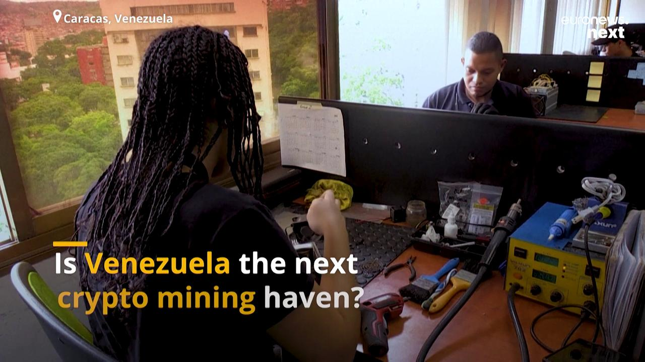 In a crumbling economy, Venezuela's cheap electricity is a blessing for its Bitcoin miners