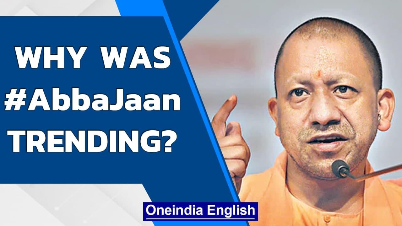 What is the #AbbaJaan trend? Yogi Adityanath's taunt gets pushback | Oneindia News