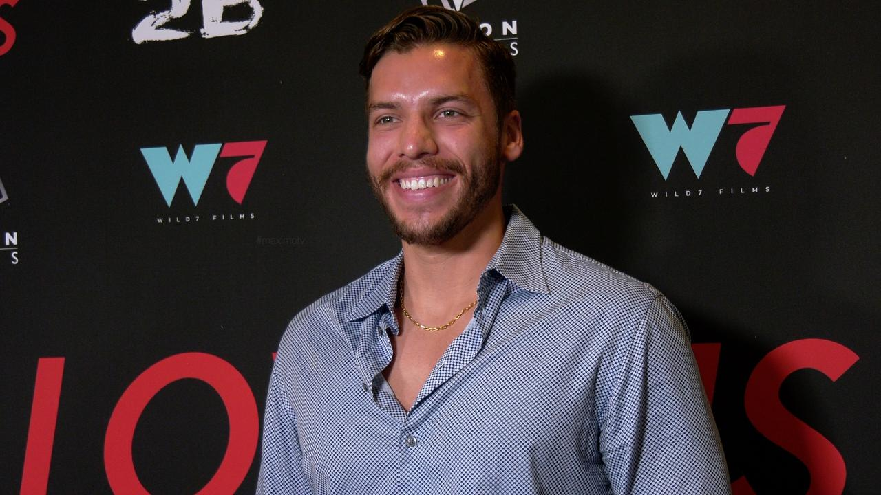 """Joseph Baena attends the """"I Love Us"""" premiere red carpet in Los Angeles"""