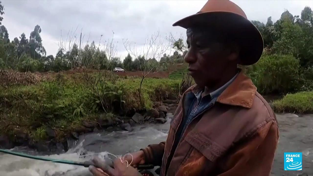 Kenya's fly fishers: Young enthusiasts push to bring sport to the masses