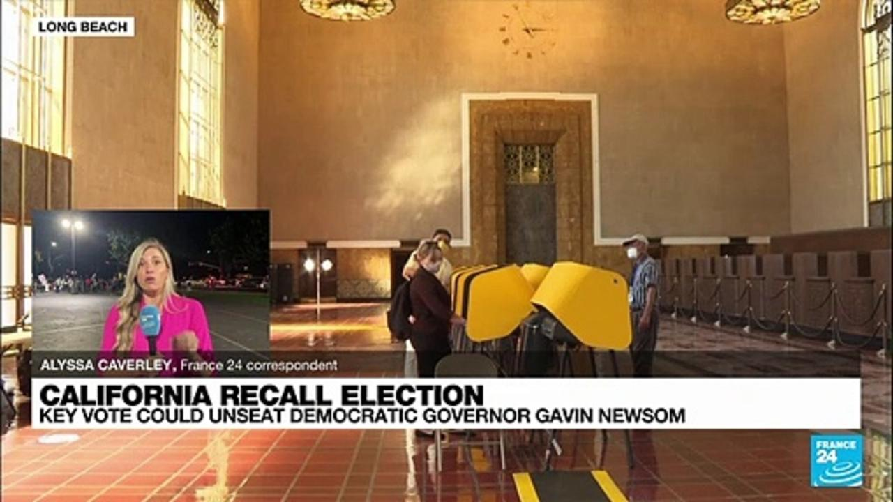 Biden makes push for California's Newsom as recall nears end