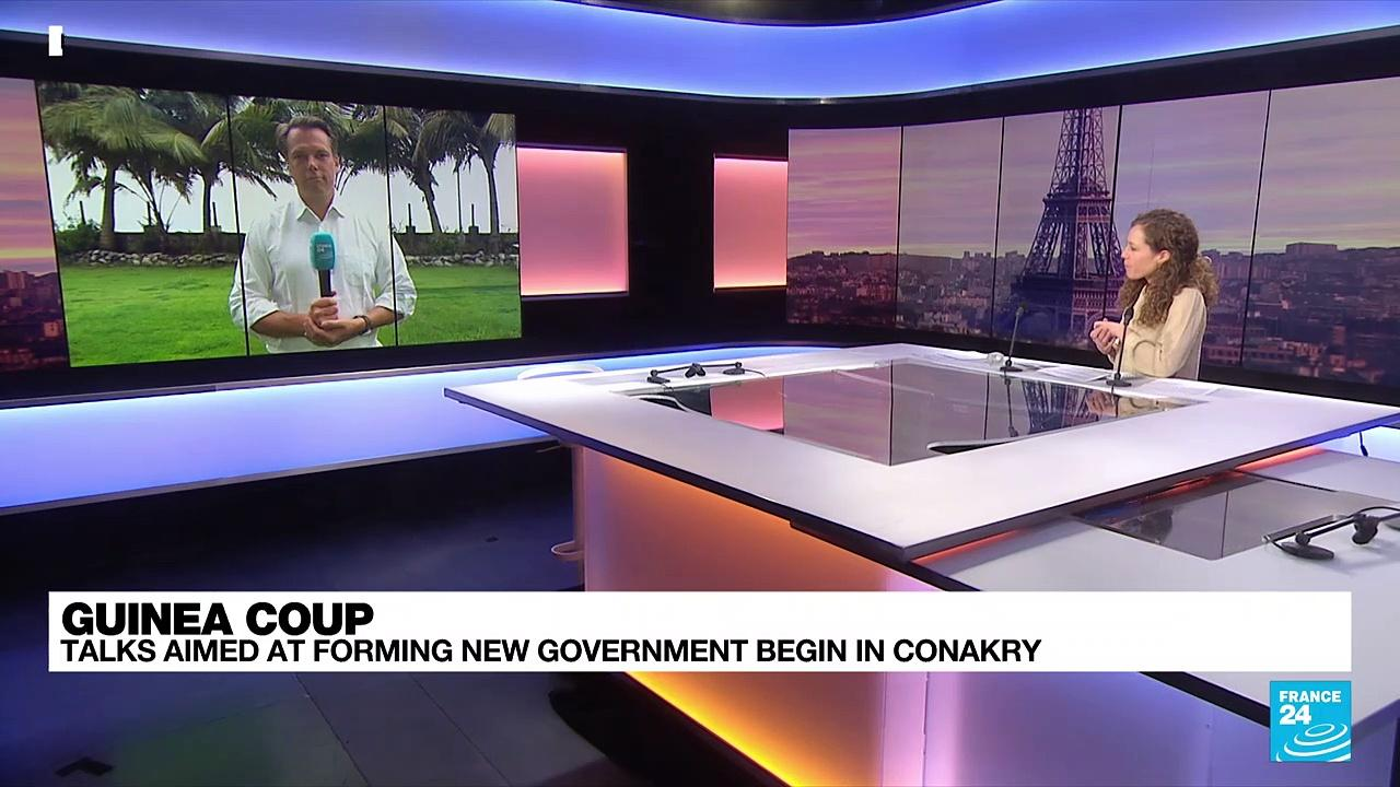 Guinea coup: Talks aimed at forming new govt begin in Conakry
