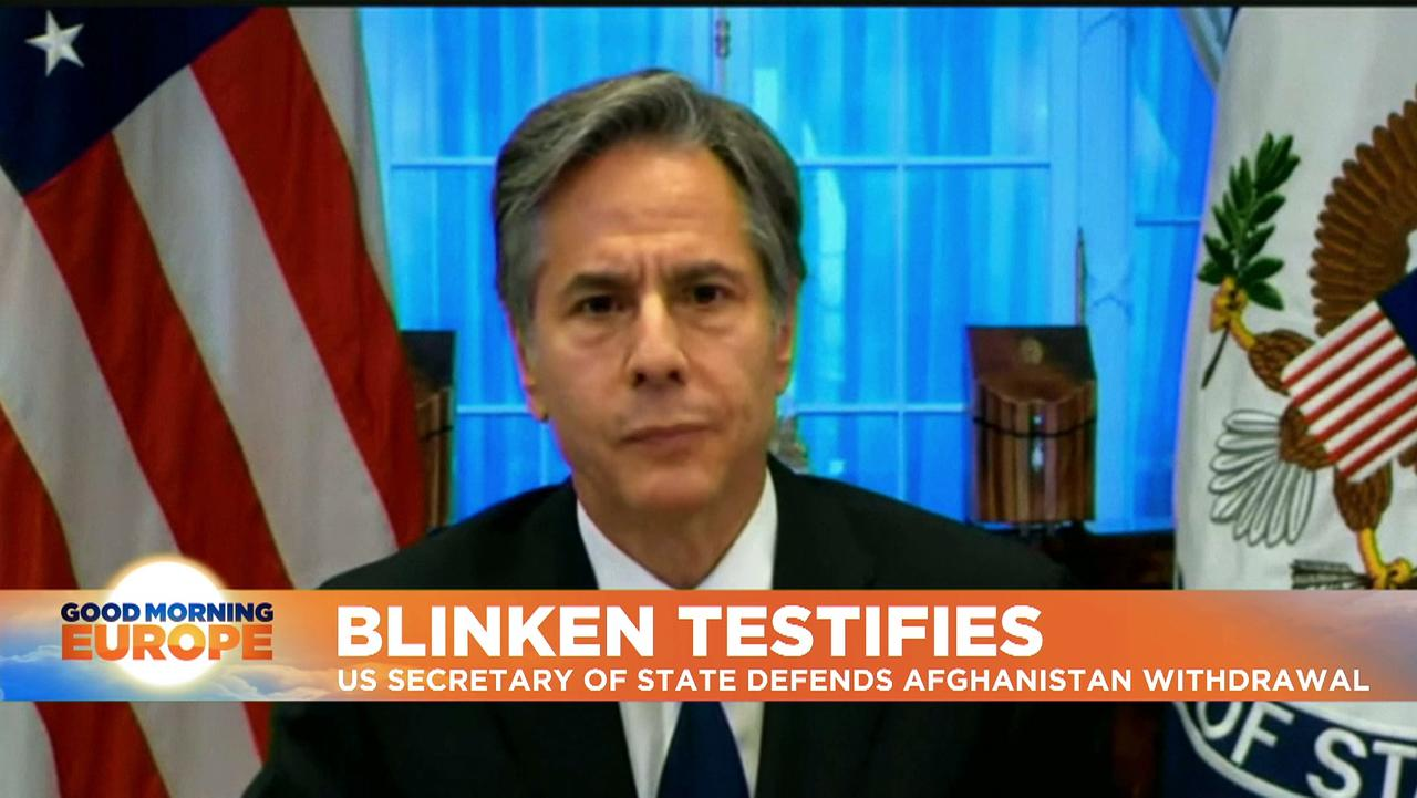 Blinken grilled over Afghan pullout as critics call it an 'unmitigated disaster of epic proportions'
