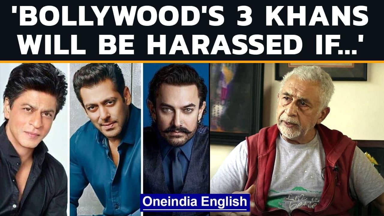 Naseeruddin Shah talks about propaganda films & why Bollywood's Khans don't speak up   Oneindia News