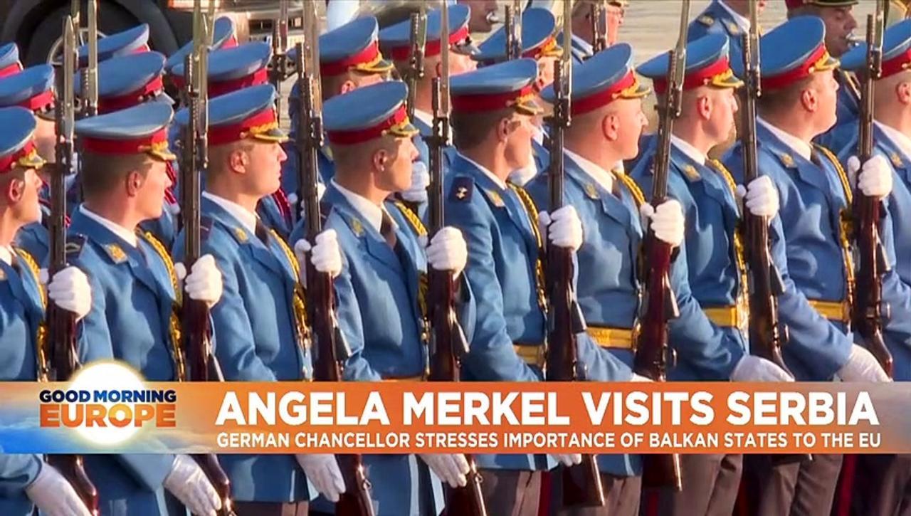 Letting Balkan countries into EU is in bloc's interests, says Merkel