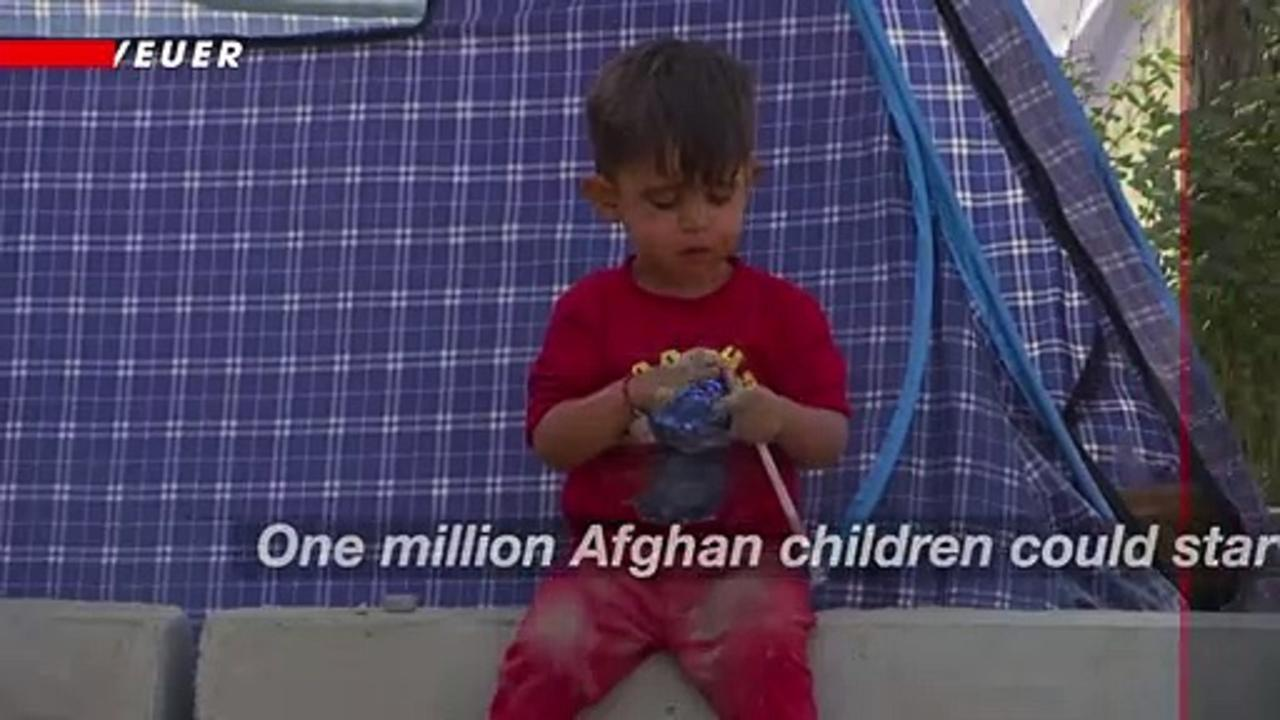 United Nations Says One Million Afghan Children At Risk of Starving