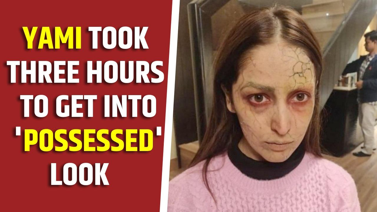 Yami took three hours to get into possessed look for Bhoot Police