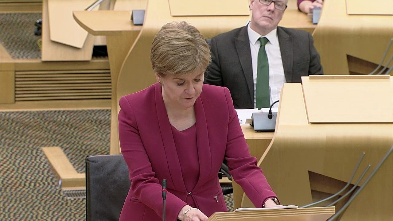 Sturgeon confirms plans to vaccinate 12-15 year olds