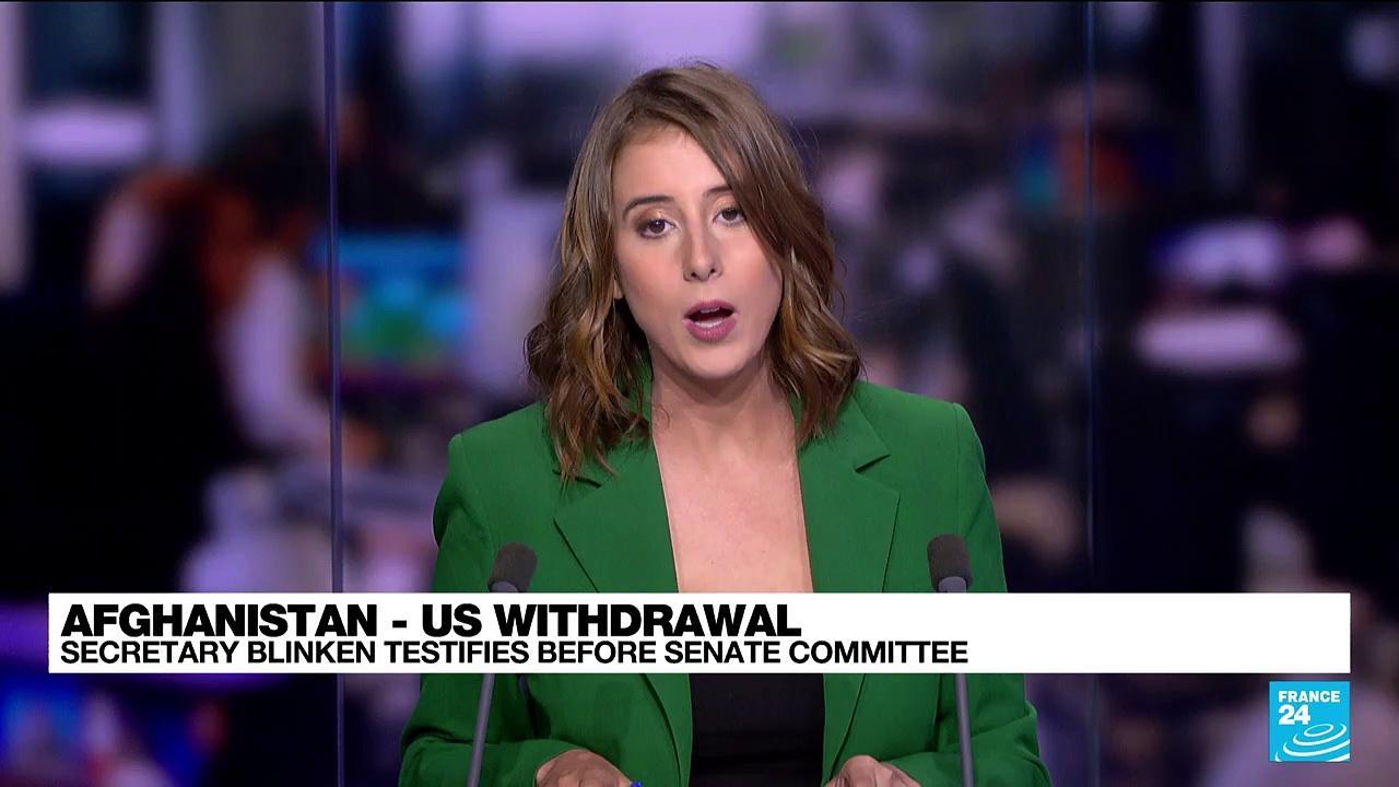 REPLAY. Afghanistan: US Secretary Blinken testifies before Senate Committee