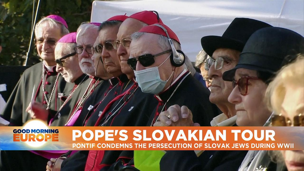 Pope Francis in Slovakia stresses inclusion and reconciliation with Roma and Jewish communities