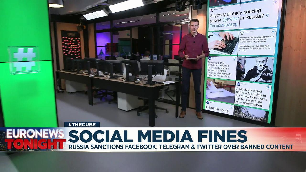 Russia issues fresh fines to social networks for failing to remove content