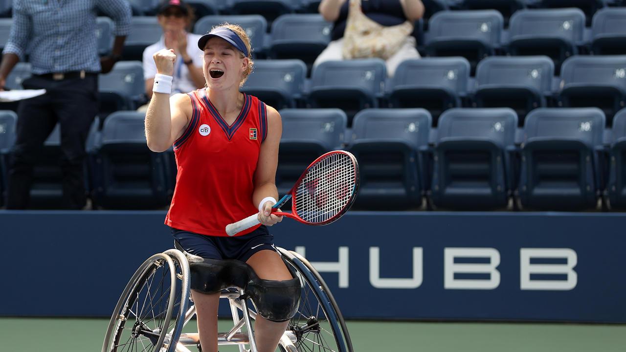 Diede de Groot Became First To Complete Golden Slam In Wheelchair Tennis
