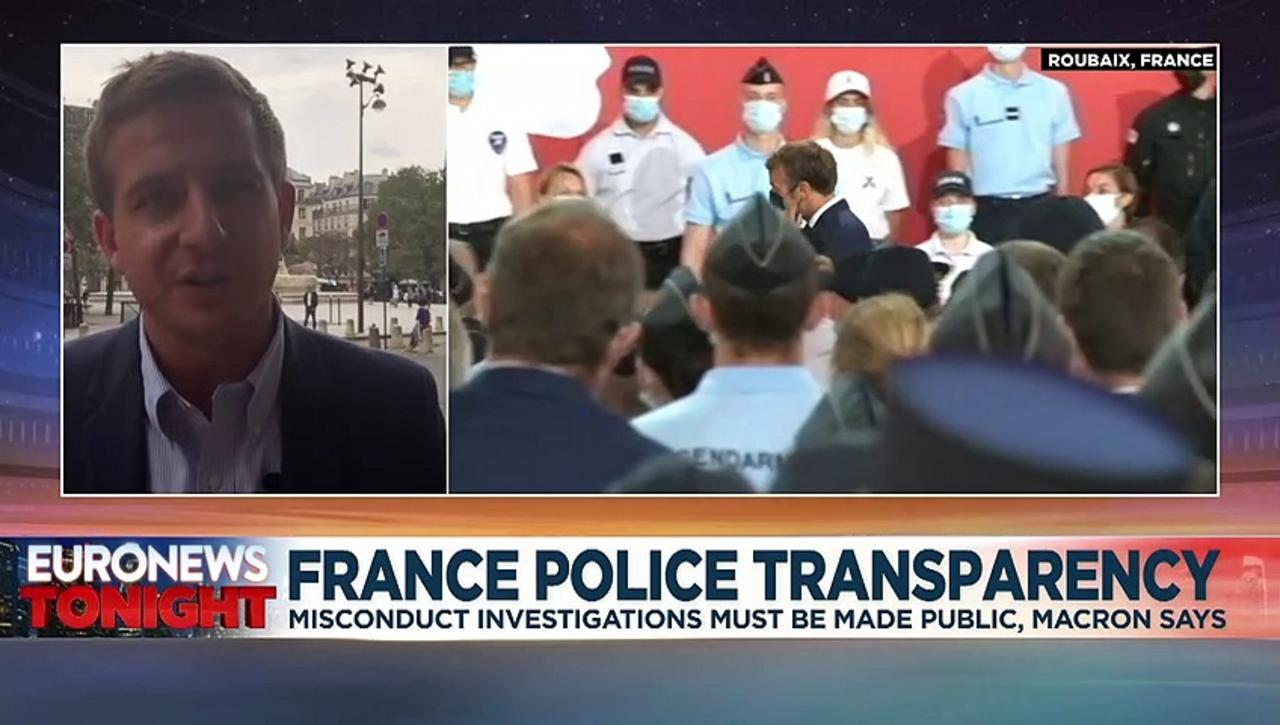 Police violence and racism: Macron outlines French plan for greater transparency over abuses