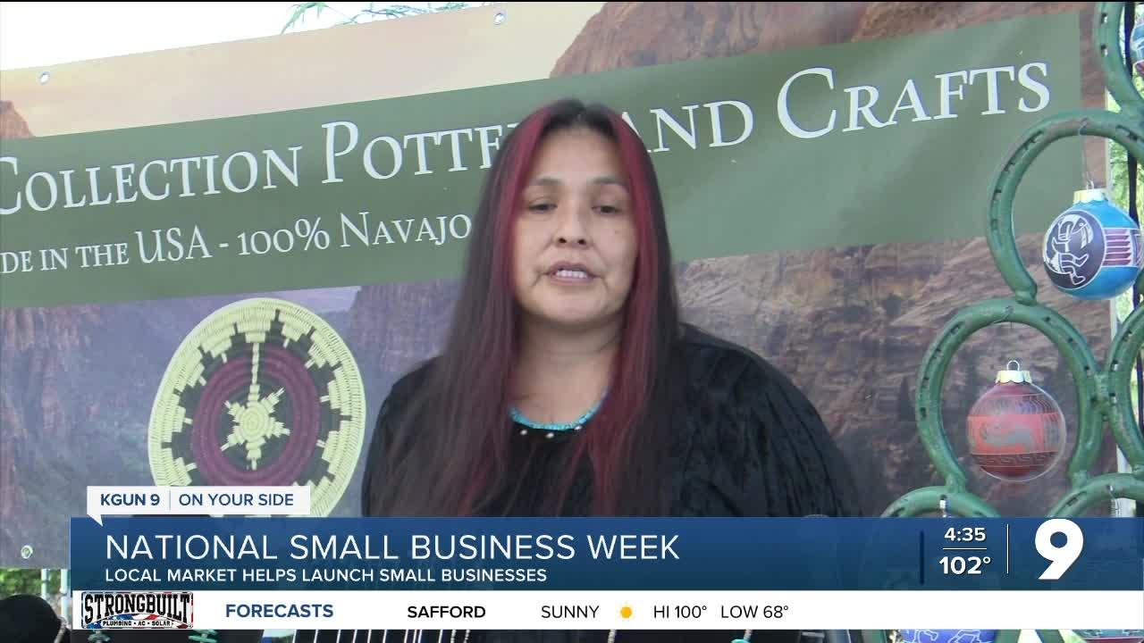 Open-air market serves as launching pad for small businesses