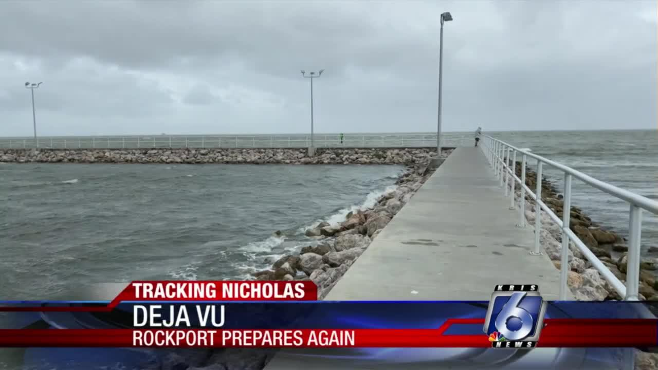 Rockport conditions 6 p.m.