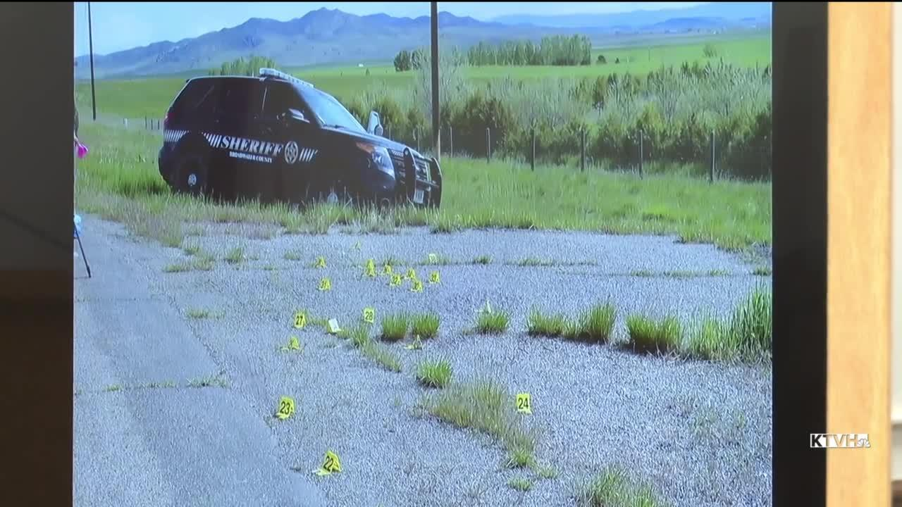 Barrus Trial: Deputy's patrol vehicle was shot more than 20 times the morning he was killed