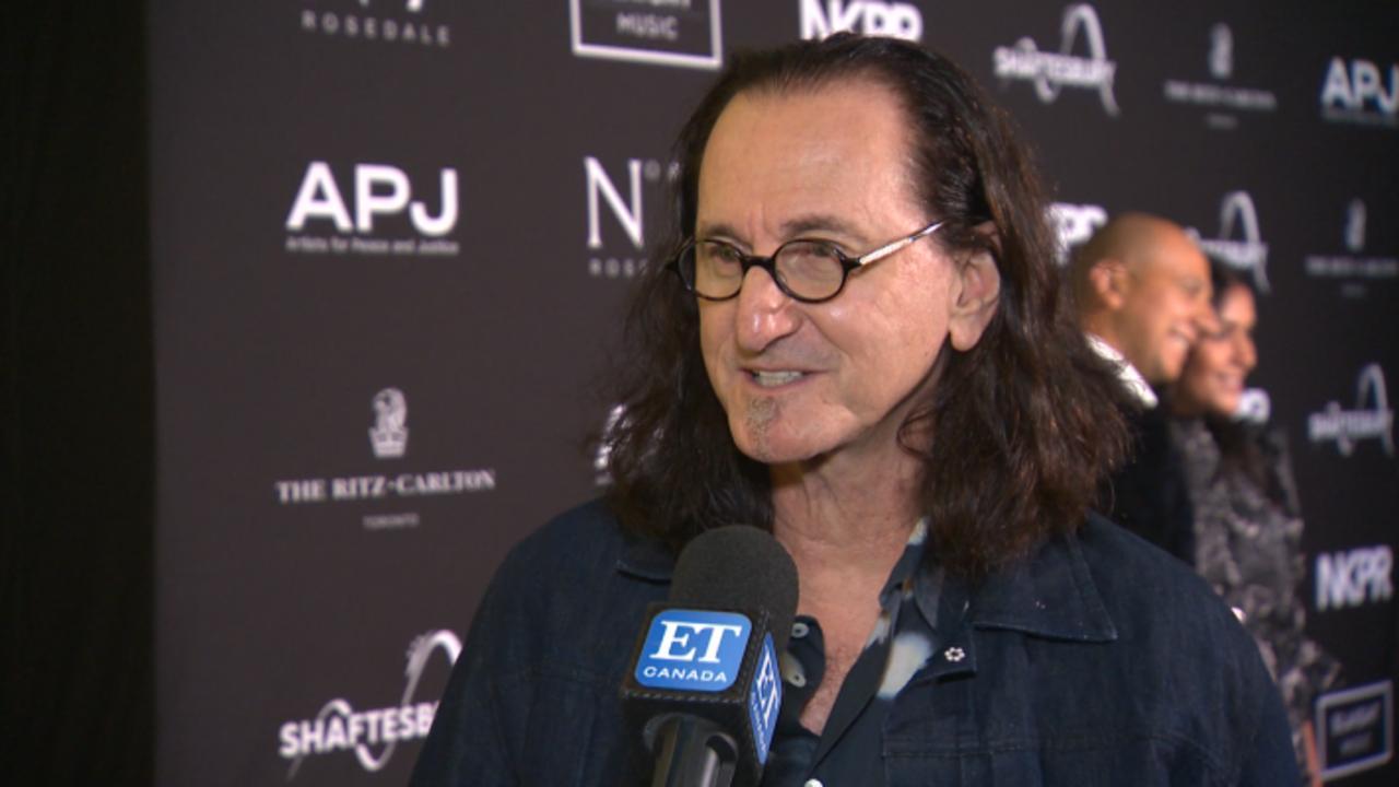 Rush's Geddy Lee On Receiving Lifetime Achievement Award