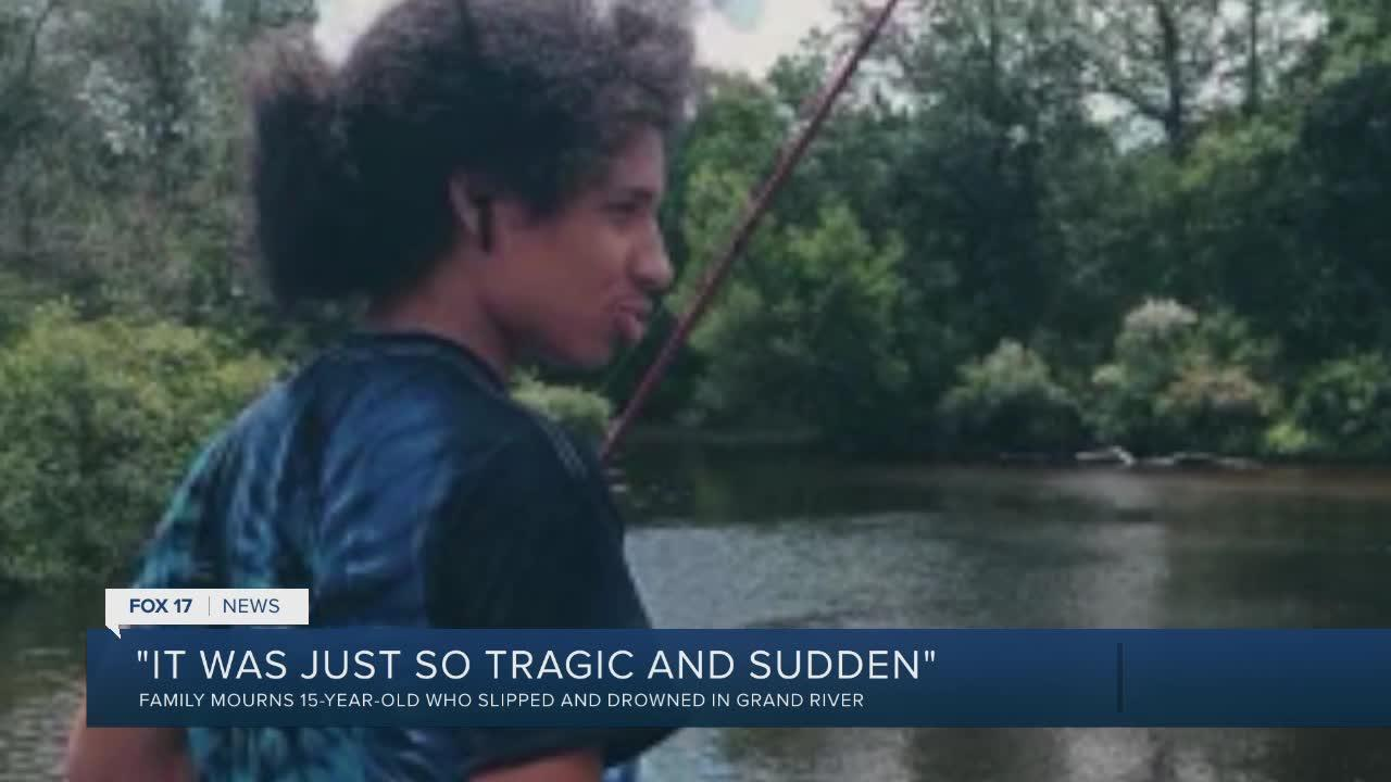 Family remembers teen drowned in Grand River