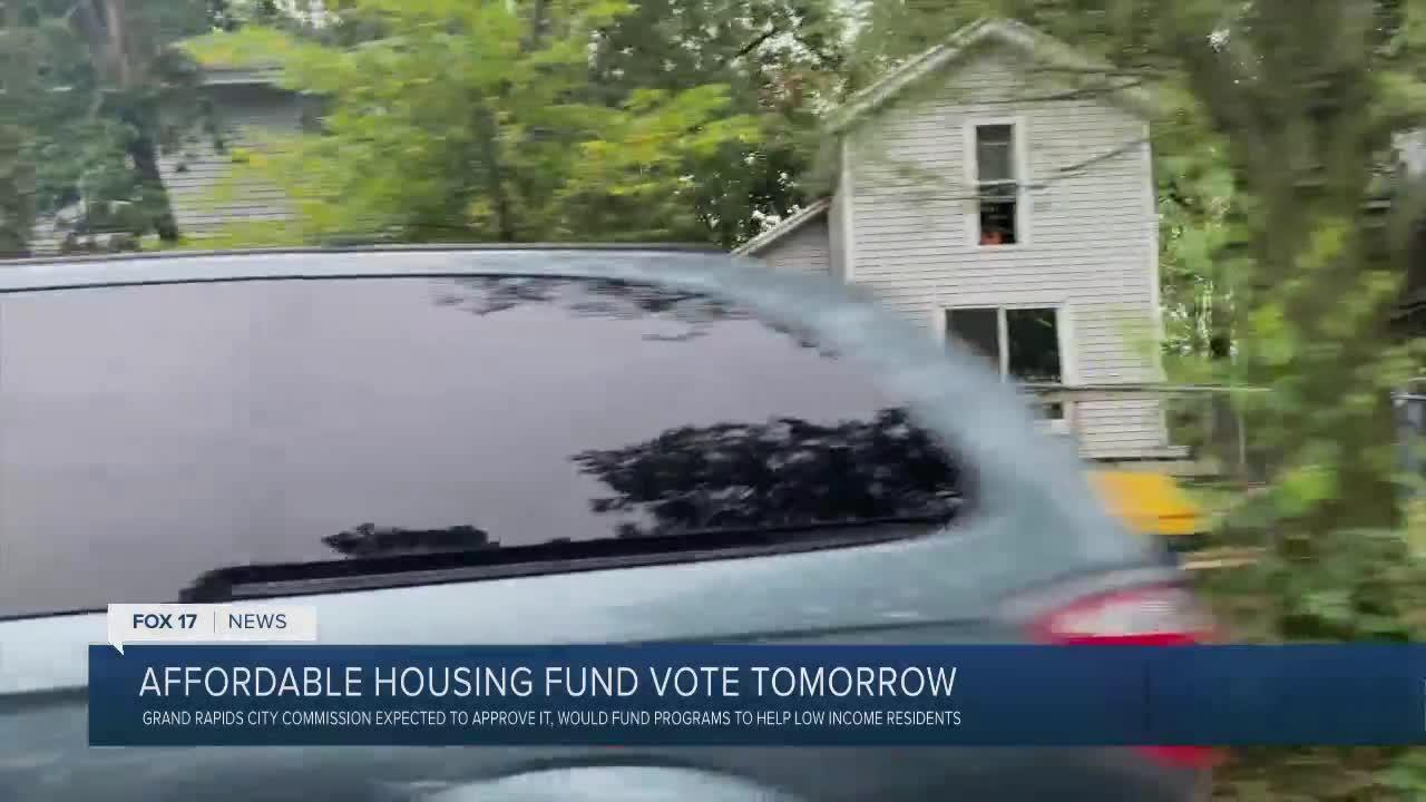 Affordable housing fund vote tomorrow