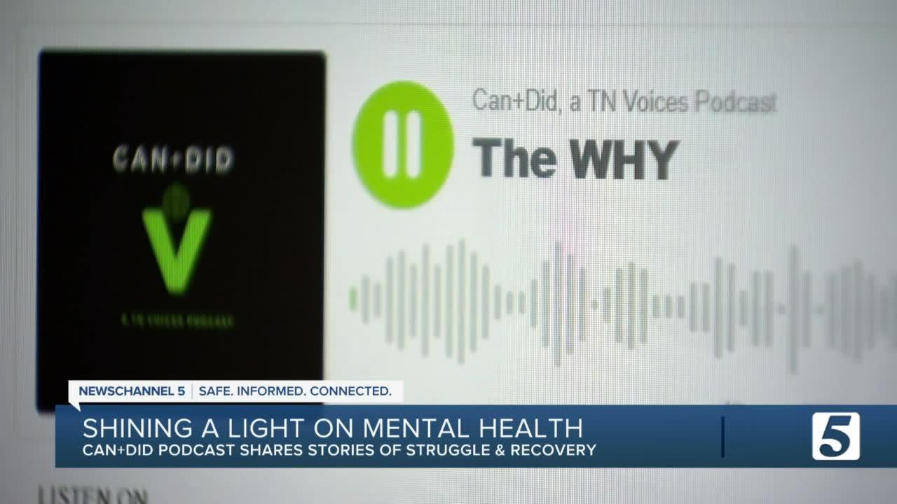 New local podcast shines a light on mental health
