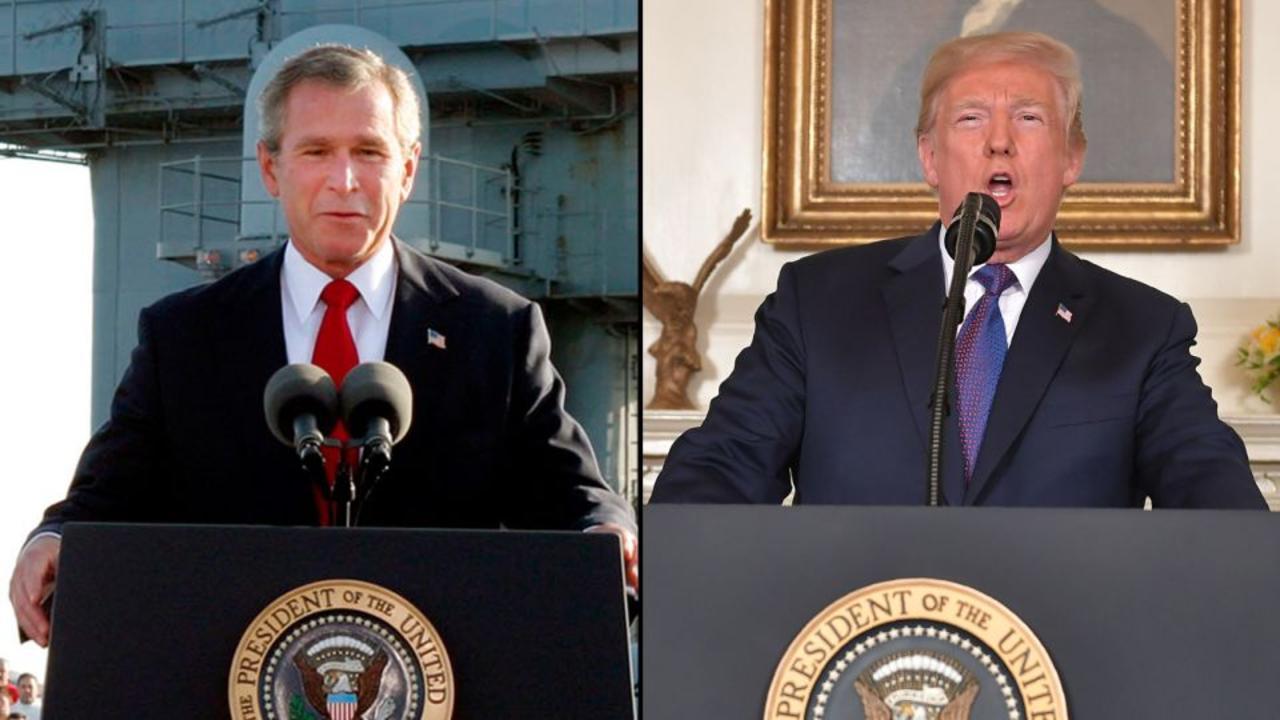 'Trump has a point': Dana Bash on his comments about Bush