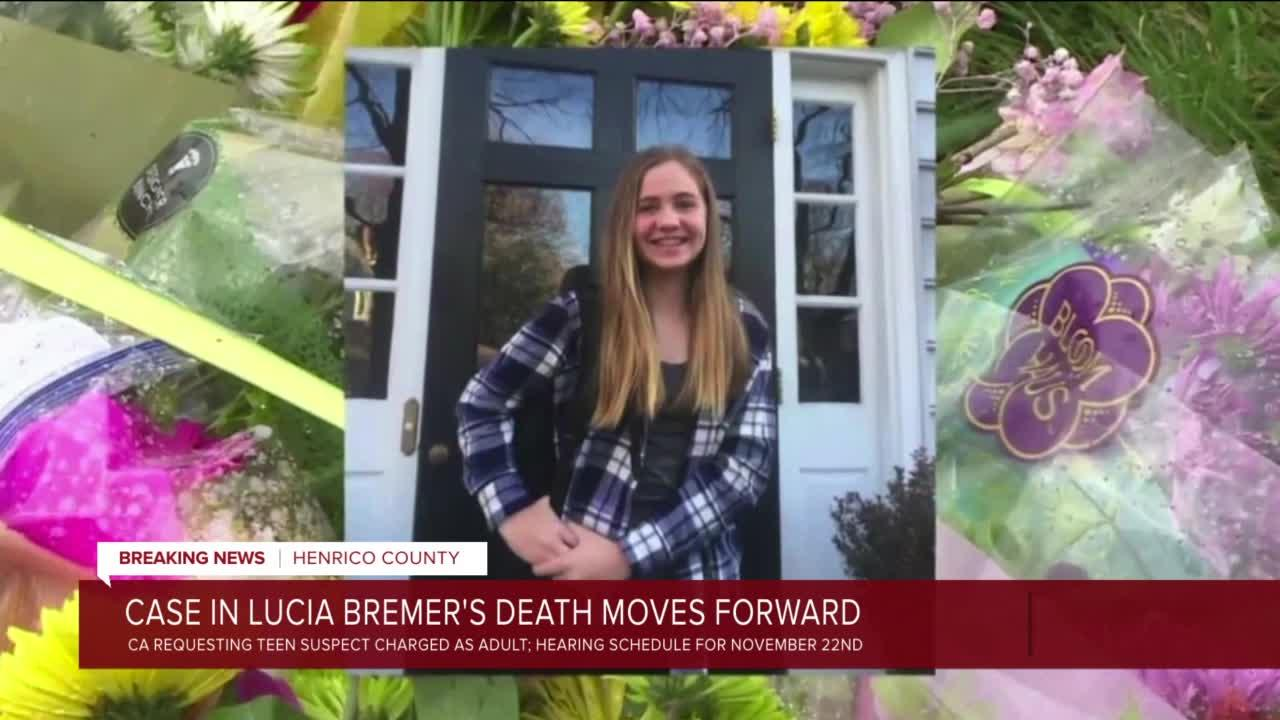 Case in Lucia Bremer's death moves forward