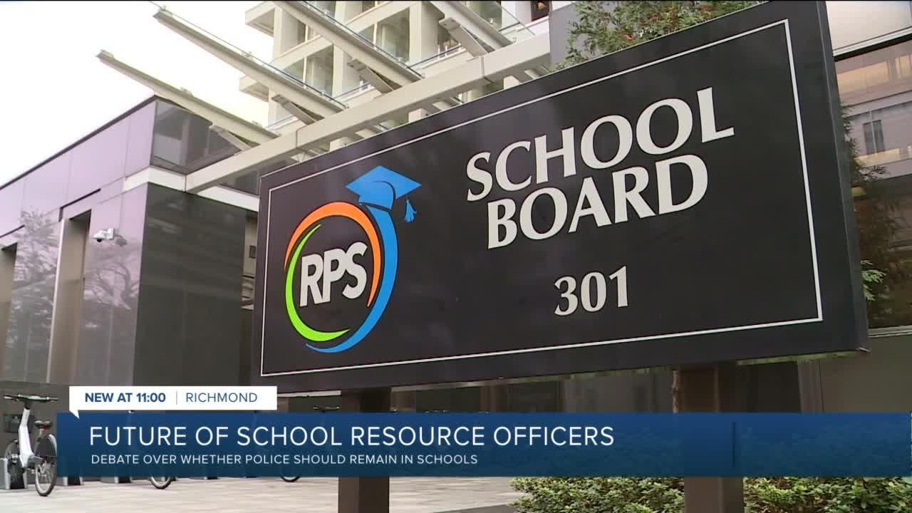 Richmond School Board debates over whether police should remain in schools