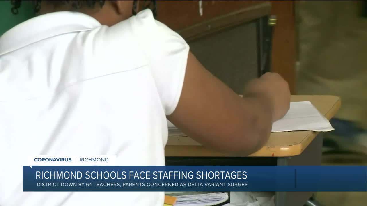 Richmond Schools face staffing shortages