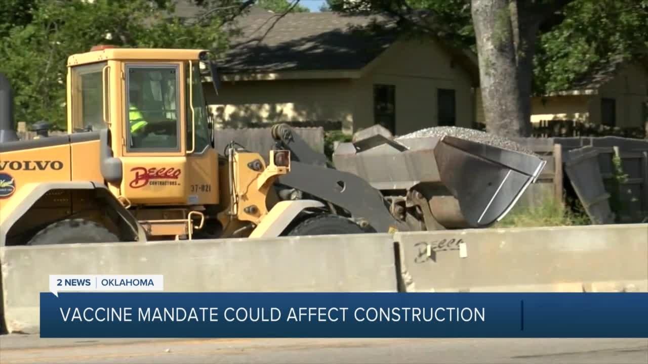Vaccine Vaccine Mandate Could Affect Construction