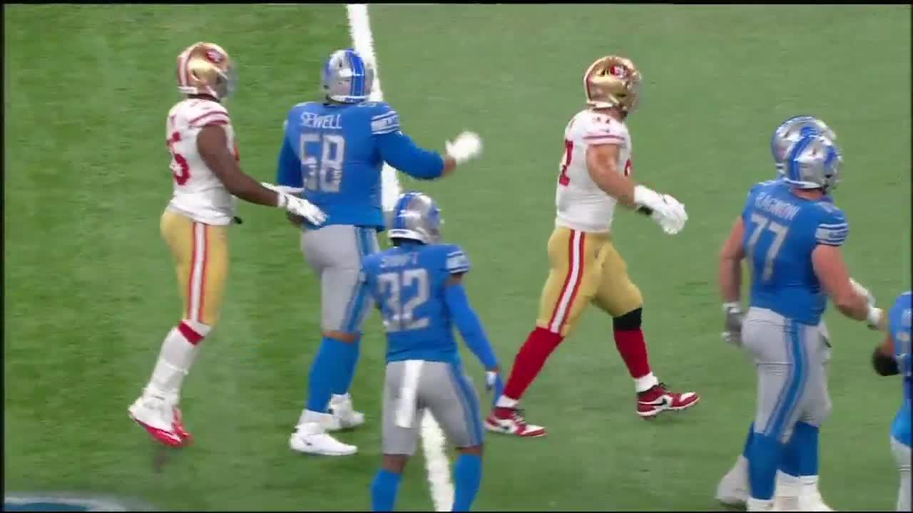 Lions noncommittal on plans for Sewell or Decker after rookie's impressive debut