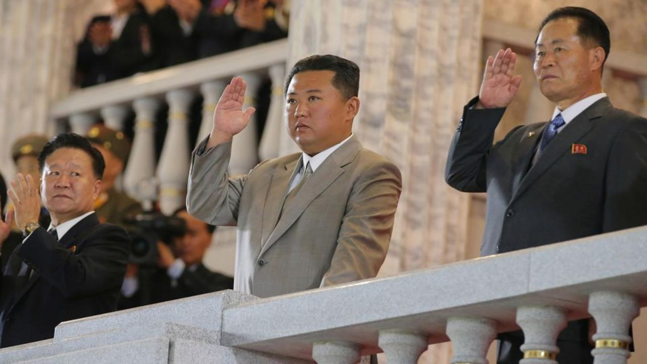 Photos show North Korea testing missiles as Kim Jong Un remerges thinner