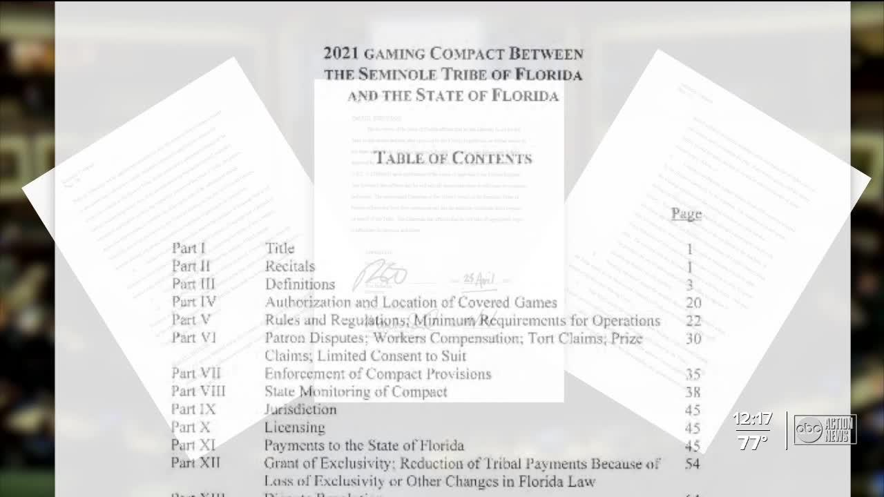 Legal sports betting in Florida could be underway this football season