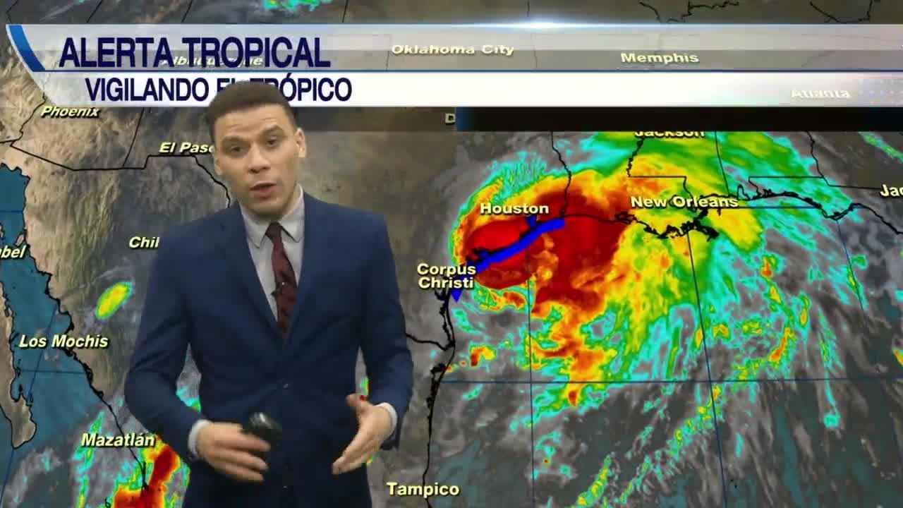 Tormenta Tropical Nicholas actualizacion 2nd weather