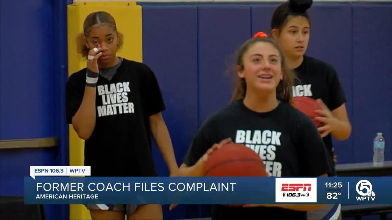 Former coach files suit against school