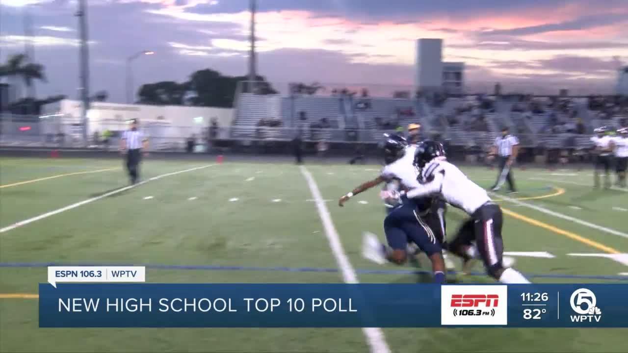 New High School Football Top 10