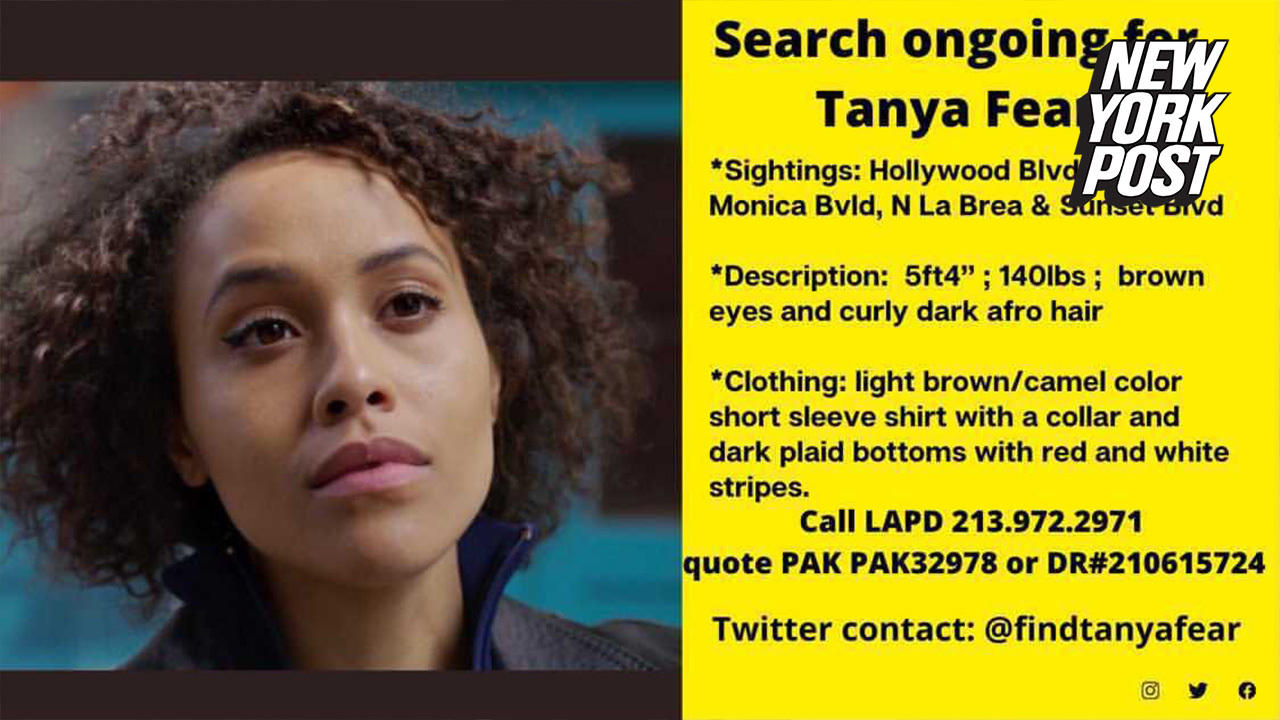 UK 'Doctor Who' actress Tanya Fear missing after moving to LA