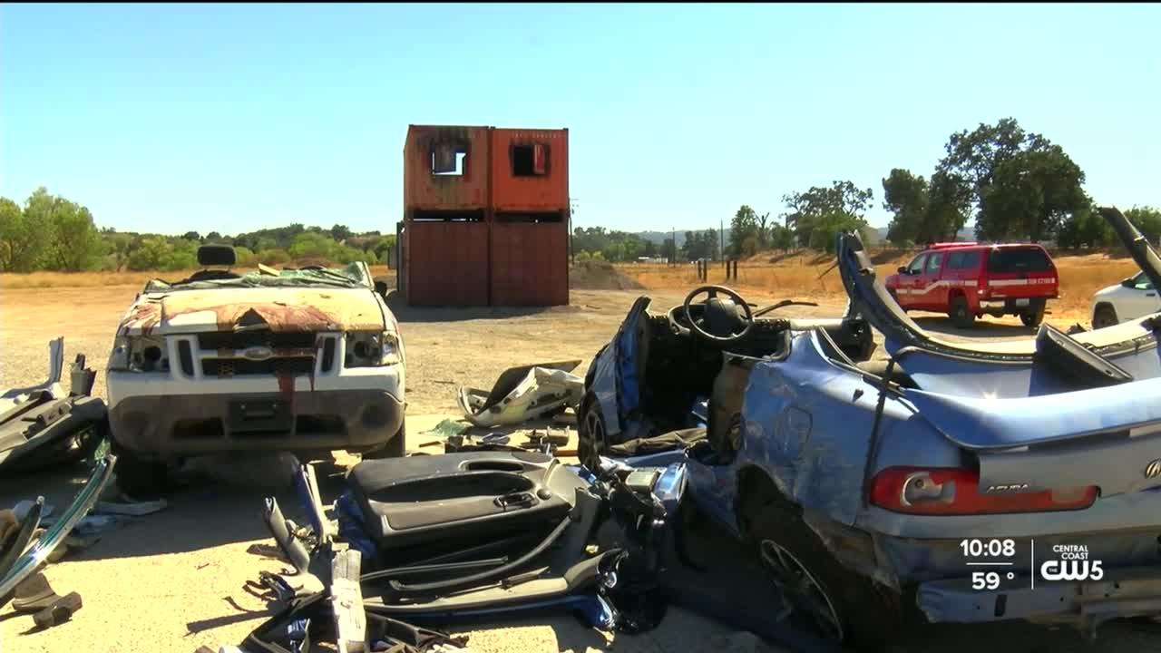 Templeton Fire training lot vandalized, officials ask tips from community