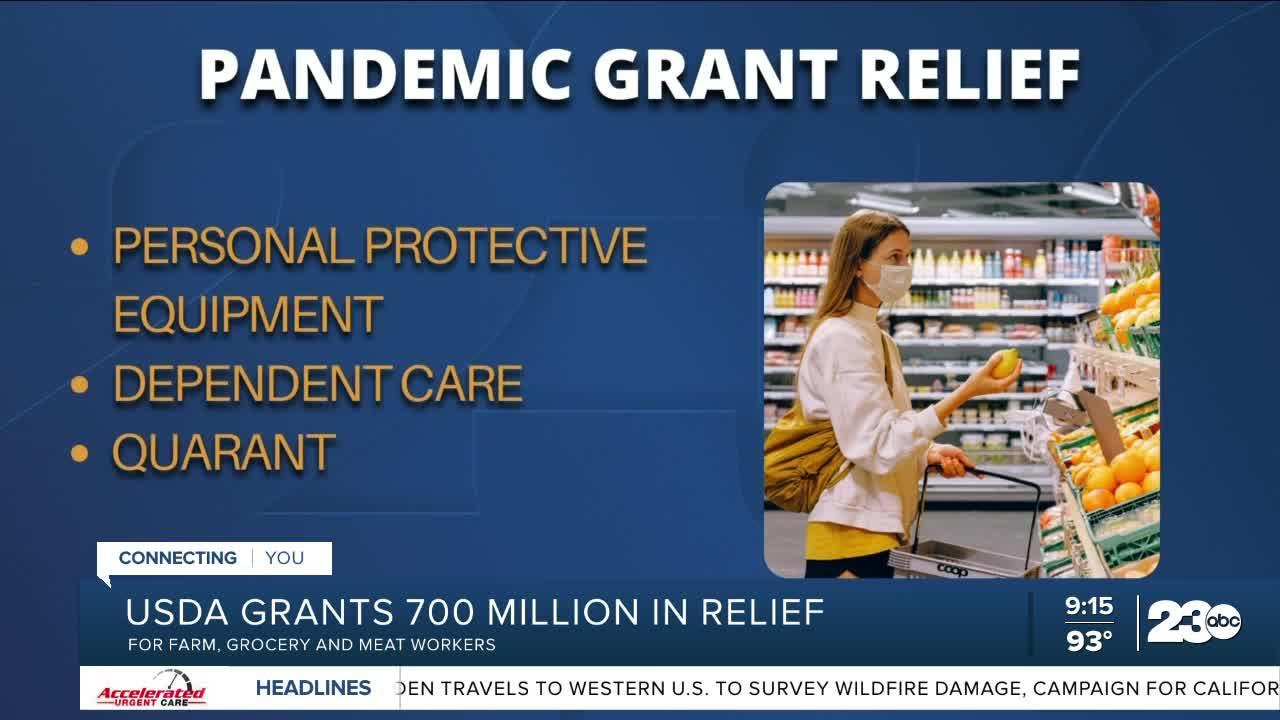 United States Department of Agriculture provides $700,000,000 in grants for pandemic relief