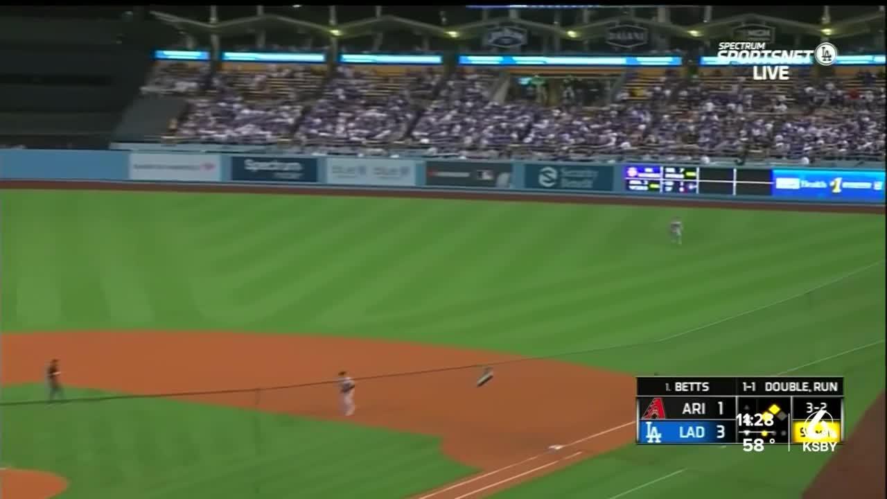 Dodgers top Diamondbacks 5-1