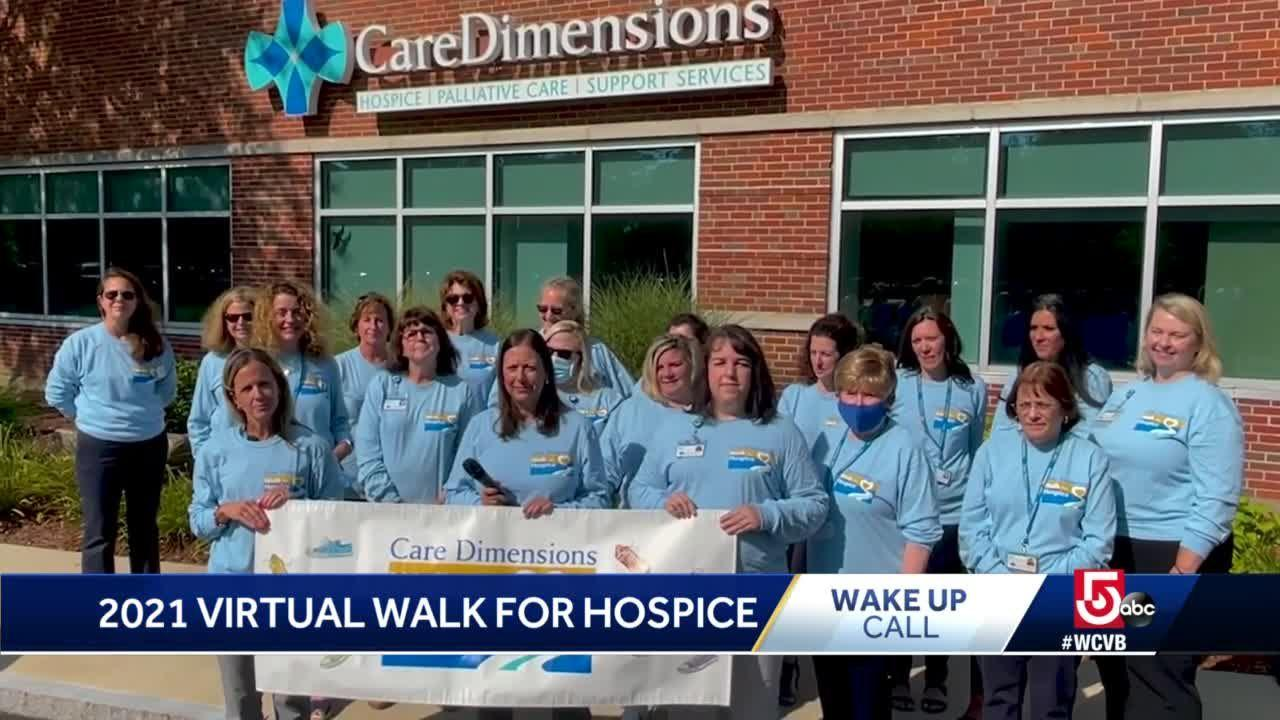 Wake Up Call from 2021 Virtual Walk for Hospice