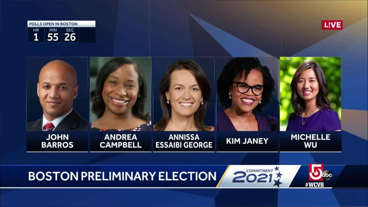 Voters head to polls in preliminary Boston mayoral election