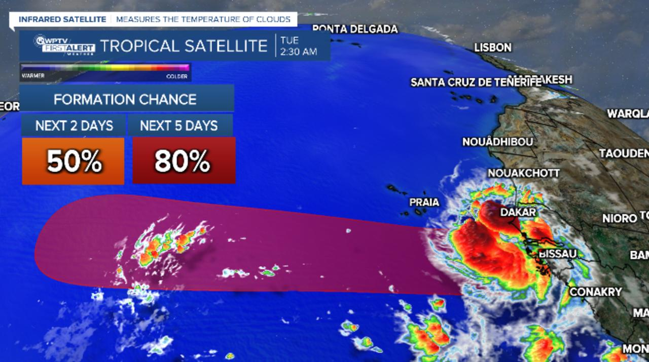 Nicholas made landfall as hurricane, two tropical waves could develop this week