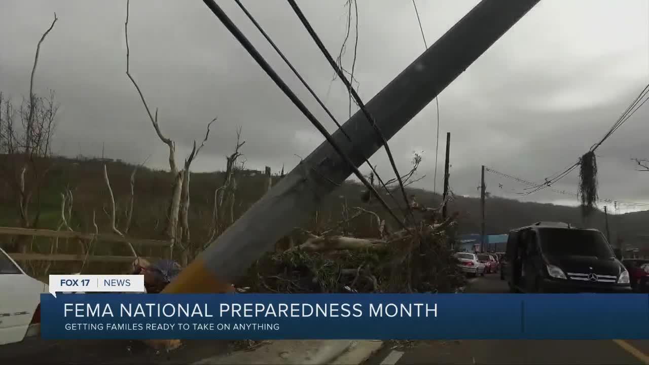 FEMA preparedness month